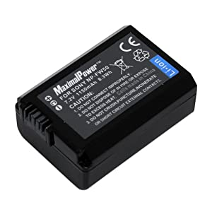 MaximalPower Sony NP-FW50 Batterie Lithium-Ion pour appareils Sony Alpha (Import Royaume Uni)