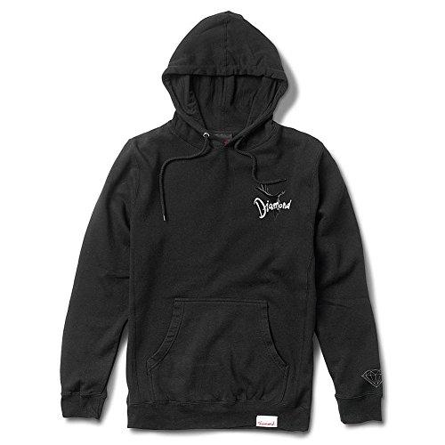 Diamond Supply Co. Men's Underworld Pullover Hoodie Black (Mens Diamond Supply Co Sweatshirt compare prices)
