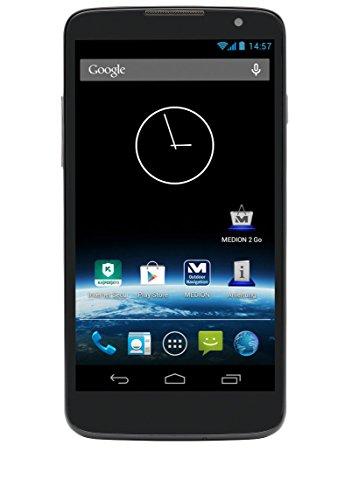 MEDION LIFE P5001 (MD 98664) 12,70 cm (5 Zoll) Smartphone (1,3 GHz Quad-Core, qHD Display, 4 GB Speicher, 1 GB RAM, WLAN, HSPA+, Android 4.2 Jelly Bean) schwarz