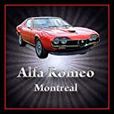 Alfa Romeo Montreal Classic Car Acrylic Drinks Coaster