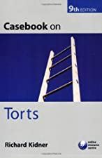 Casebook on Torts by Kidner