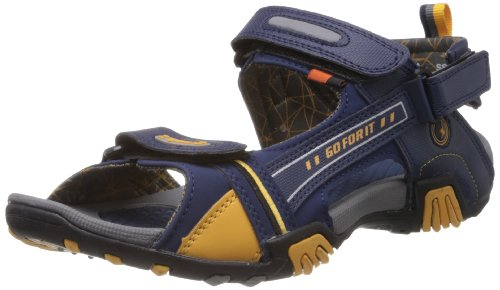 Sparx-Mens-Navy-Blue-and-Yellow-Sandals-and-Floaters-8-UK-SS-430