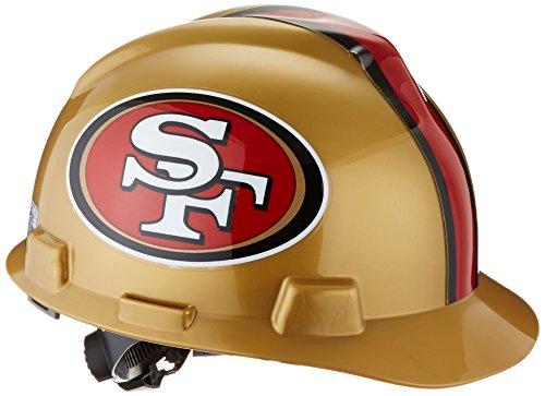 Safety Works 818440 Nfl Hard Hat San Francisco