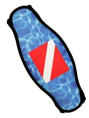 Strap-Wrapper Dive Mask Strap Wrapper - Wraps Around Your Dive Mask Strap by Innovative Scuba Concepts