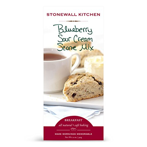 Stonewall Kitchen Blueberry Sour Cream Scone Mix, 12 Ounce Box (Scones Mix compare prices)
