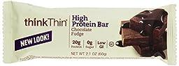 Think!, Diet Chocolate Fudge Bar, 2.1 oz