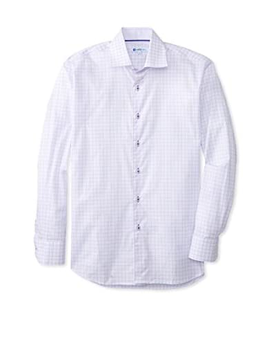 CaféBleu Men's Check Long Sleeve Shirt