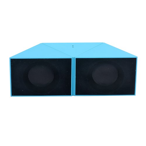 Mfine Magic Shape Change Portable Bluetooth Speaker Support Micro Sd Card Playing ,Mini Wireless Speaker Bluetooth Boxing For Iphone, Ipad, Ipod, Samsung, Smartphones And Tablet Pcs, Laptops, Ultrabooks (Blue)
