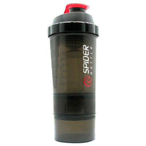 Spider Bottle Maxi 2 Go Black And Red - 24 Oz