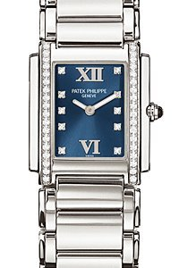 Patek Philippe Twenty-4 Medium Stainless Steel Ladies Watch 4910-10A-012