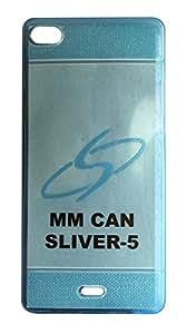 Vcare Shoppe Back Cover for Micromax Canvas Silver 5 Q450 (Semi Transparent)