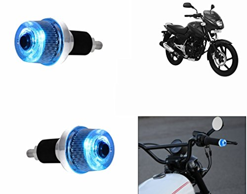 Speedwav Stylish Bike Handle Grip Edge BLUE LED Light-Bajaj Pulsar 150  DTS-I Type 3
