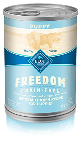 Blue Buffalo Freedom Puppy Chicken Dinner - Grain Free 12.5 oz, Pack of 12 (Blue Buffalo Canned Puppy Food compare prices)