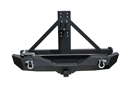 Tuff Stuff Rear Bumper & Tire Carrier For 07-16 Jeep Jk Wrangler (Bumper Jeep Jk compare prices)