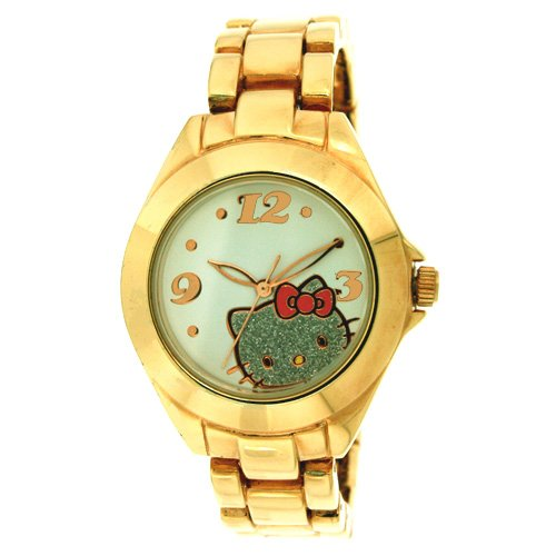 Hello Kitty Gold-Tone Watch<br><br><br>