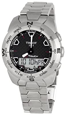 Tissot Men's T0134204420100 T-Touch Expert Titanium Analog-Digital Watch by Tissot
