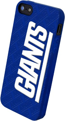 Special Sale Forever Collectibles New York Giants Team Logo Silicone Apple iPhone 5 & 5S Case