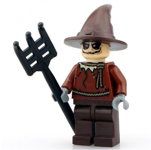1Figure Building Blocks Brinks SuperHeroes ActionFigures [MiniFigure Heroes Scarecrow MiniBlocks] Minifigures Educational Toys (Princess In Prison Costume)