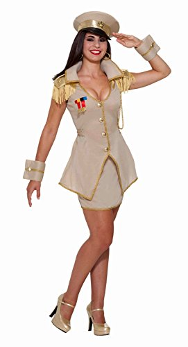 Forum Novelties Women's Flirty General Army Entertainer Uniform Costume