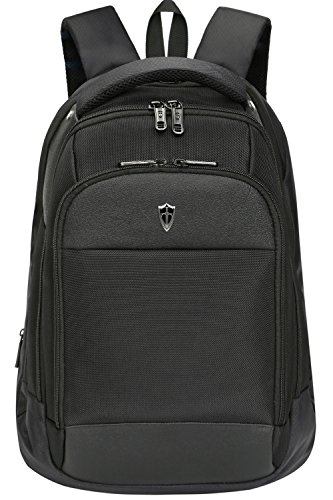 Victoriatourist V6018 Slim Business Laptop Backpack with Ipad/surface Pocket, Fits Most 15.6-inch Laptops (Black)