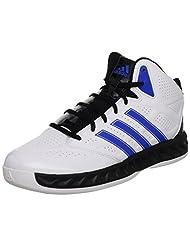Adidas G59714 Hoop Fury Men's Basketball Shoes Brand New White/Blue/Black 11 UK