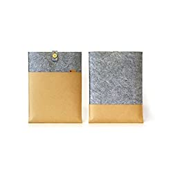Brownfolds Grey & Brown 13 inch sleeve/slip case for Macbook pro with retina