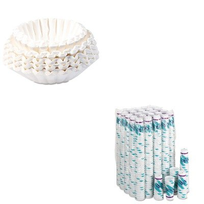 KITBUN1M5002SLOX20NJ - Value Kit - Solo Trophy Plus Dual Temp Cups (SLOX20NJ) and Bunn Coffee Commercial Coffee Filters (BUN1M5002)