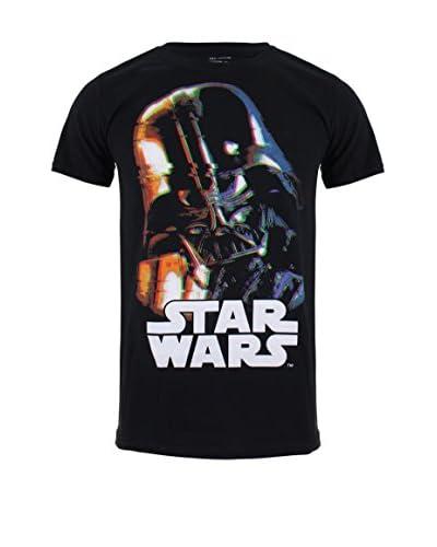 Star Wars Camiseta Manga Corta Vader Distorted Negro