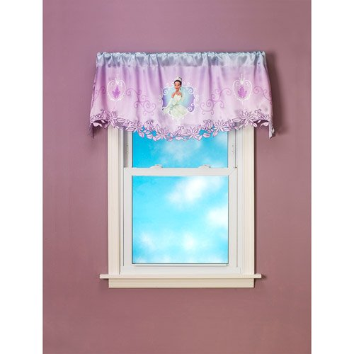 Disney 50 in. x 18 in. Purmt Fairdreams Valance -DISCONTINUED