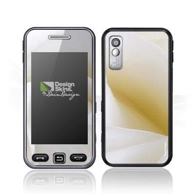 Design Skins für Samsung Star S5230 - White Rose Design Folie [Elektronik]