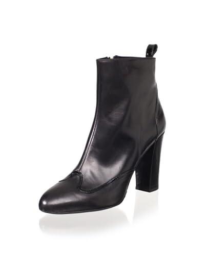 Delman Women's Folly Ankle Boot  – Black