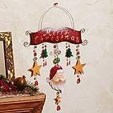 Metal Christmas Wall Plaque - Style 34656