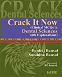 img - for Crack It Now: Clinical MCQs in Dental Sciences With Explanations book / textbook / text book