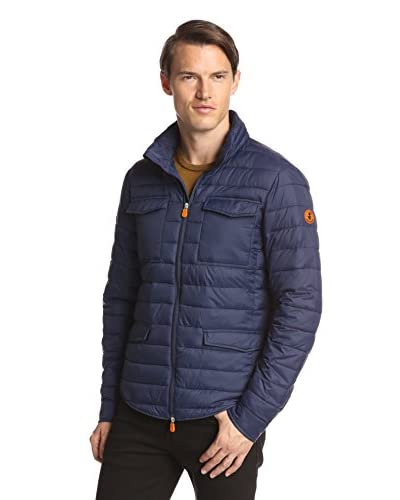 Save the Duck Men's Giga Puffer Shirt Coat