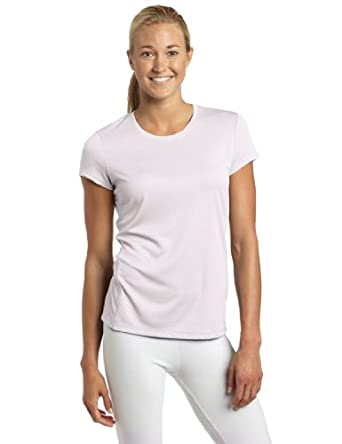 ASICS Women's Core Short Sleeve Shirt, White, Medium