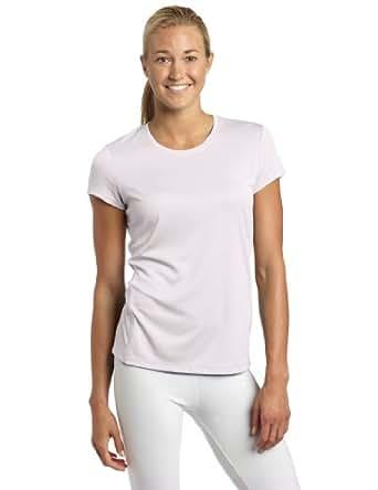 ASICS Women's Core Short Sleeve Shirt, White, Medium