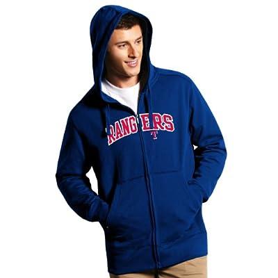 MLB Texas Rangers Men's Full Zip Hoodie