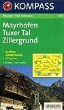 echange, troc Daniele Bourdais - 037: Mayrhofen - Tuxer Tal Zillergrund 1:25, 000