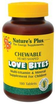 Nature'S Plus - Chewable Love Bites Vit & Min, 180 Chewable Tablets