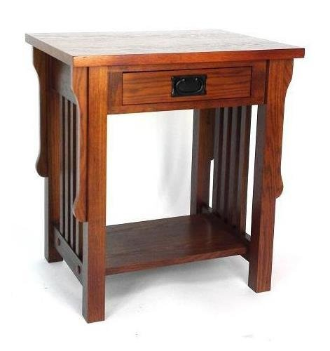 Night Stand Oak front-1067309