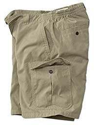 Men\'s Orvis Men\'s Vintage Canvas Cargo Elastic Shorts, 36