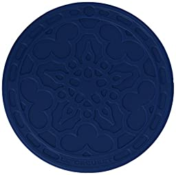 Le Creuset Silicone Set of 4 French Coasters, Marseille