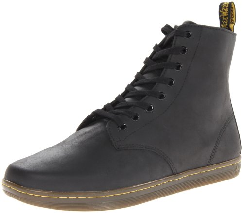 Dr Martens Men's Tobias Greasy Lamper Black Boots 5.5 UK
