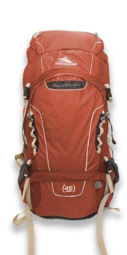 High Sierra Tangent 45 L Top-Loading Internal Frame Backpack (Redrock) front-677047