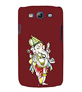 printtech Lord God Ganesha Back Case Cover for Samsung Galaxy S3 Neo / Samsung Galaxy S3 Neo i9300i