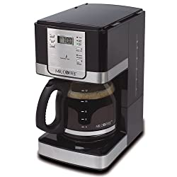 Mr. Coffee JWX36-NP Advanced Brew 12 Cup Programmable Coffee Maker, Red by Mr. Coffee