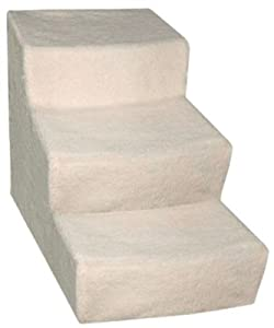 Pet Gear Soft Step III Pet Stairs, 3-step/for cats and dogs up to 150-pounds, Cocoa from Pet Gear