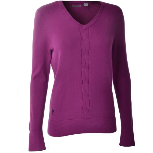 and also read review customer opinions just before buy Ashworth Ladies V  Neck Golf Sweater Purple 16. 5ee113e3d