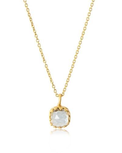 Kevia Roccoco Blue Topaz Necklace