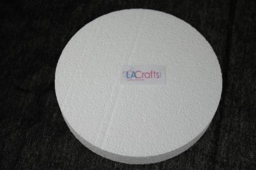 la-crafts-brand-6x1-inch-smooth-foam-craft-disc-12-pack